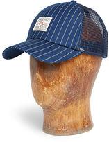 Ralph Lauren RRL Indigo-Dyed Cotton Trucker Hat