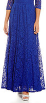 R & M Richards Long Lace Skirt