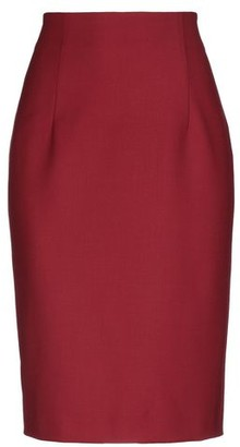 Piazza Sempione Knee length skirt