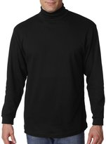 UltraClub Adult Egyptian Interlock Long-Sleeve Turtleneck - 2XL