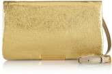 Marc by Marc Jacobs Raveheart metallic leather clutch