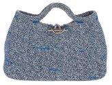 Balenciaga Woven Handle Bag