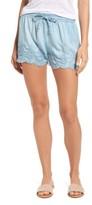 Dex Women's Eyelet Chambray Shorts