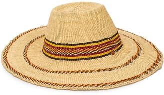 Forte Forte Tassel-Embellished Wide-Brim Hat