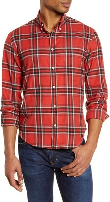 Billy Reid Kirby Slim Fit Button-Down Sport Shirt