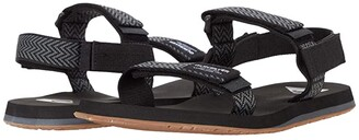 Quiksilver Monkey Caged (Grey/Grey/Blue) Men's Sandals