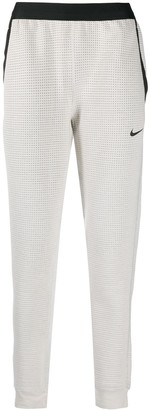 Nike Textured Cotton Tracksuit Bottoms