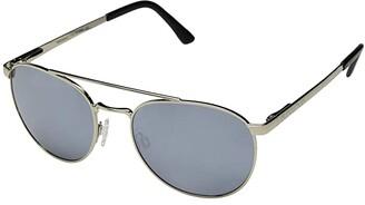 SunCloud Polarized Optics Motorist (Silver/Polarized Silver Mirror Lens) Athletic Performance Sport Sunglasses