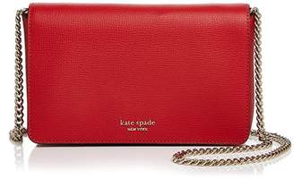 Kate Spade Medium Chain Wallet Leather Crossbody