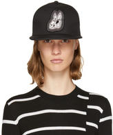 McQ Black Bunny Be Here Now Cap