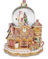 Christopher Radko Candy Village Snowglobe