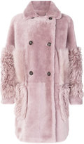 Desa Collection double breasted coat