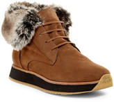 Aquatalia Jacoba Weatherproof Faux Fur Line Platform Boot