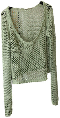 Ermanno Scervino Green Cotton Tops