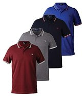 Fred Perry Men's Twin Tipped Polo Shirt-M3600