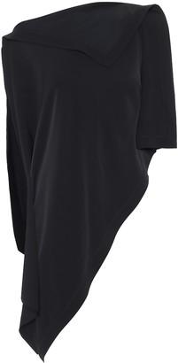 MM6 MAISON MARGIELA Asymmetric jersey top