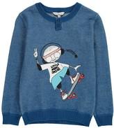 Little Marc Jacobs Little Marc Skater Pullover Sweater