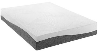"Katelynn Sylvain 12"" Medium Charcoal Infused Latex Mattress White Noise Mattress Size: California King"