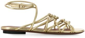 L'Autre Chose metallic 20mm sandals