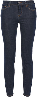 Dolce & Gabbana Appliqued Mid-rise Skinny Jeans