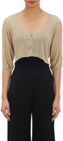 Philosophy di Alberta Ferretti WOMEN'S CROP CARDIGAN SIZE 46 IT