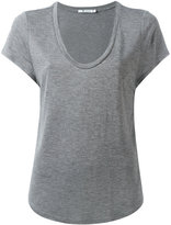 Alexander Wang scoop neck T-shirt - women - Viscose - L