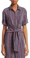 Nanette Lepore Sassy Striped Cotton Top