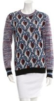 Suno Patterned Pullover Sweater