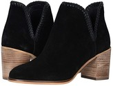 Frye And Co. AND CO. Phoebe Braid Bootie (Black Suede/Waxed Leather) Women's Boots
