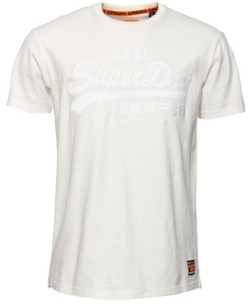 Superdry Vintage-Like Logo Box Fit Applique T-Shirt