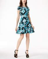MICHAEL Michael Kors Cutout Shift Dress,Created for Macy's