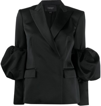 Giambattista Valli Removable Puff Sleeve Blazer