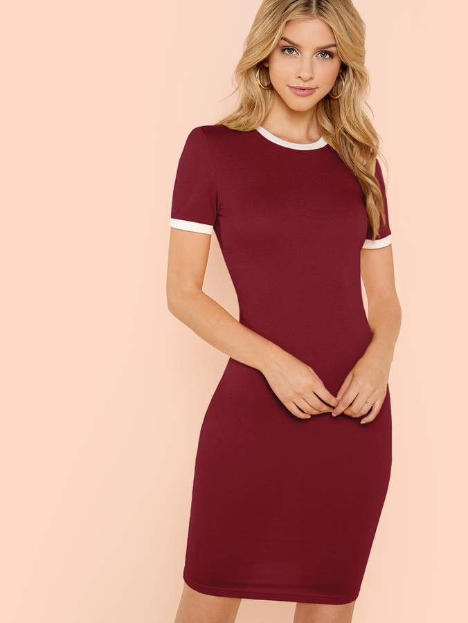 bbf9c26906a6 Shein Red Day Dresses - ShopStyle