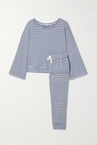 Eberjey Quincy Icon Striped Jersey Pajama Set