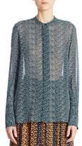 Proenza Schouler Silk Button-Down Blouse