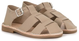 Emporio Armani Kids Closed Toe Flat Sandals