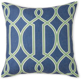 Surya Teal Links Pillow