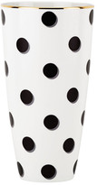 """Kate Spade Daisy Place Spots 8"""" Porcelain Vase"""