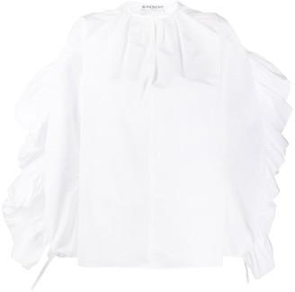 Givenchy Ruffled Sleeve Blouse
