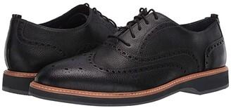 Cole Haan Morris Wing Oxford (Black Tumble) Men's Shoes