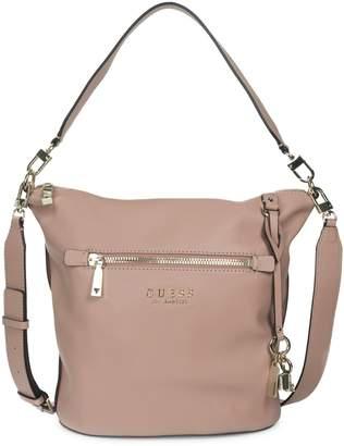 GUESS Heidi Textured Hobo Bag