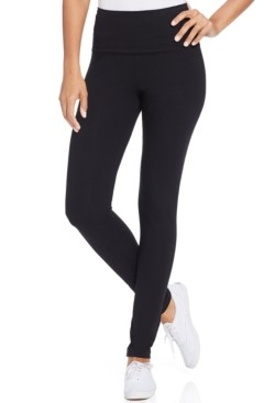 Style&Co. Style & Co Tummy-Control Leggings, In Regular and Petite, Created for Macy's
