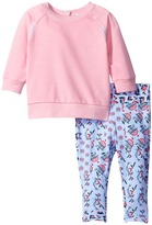 Splendid Littles Whipstitch Pullover with Printed Leggings Girl's Active Sets