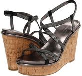 Nine West Relish (Black2 Satin) - Footwear
