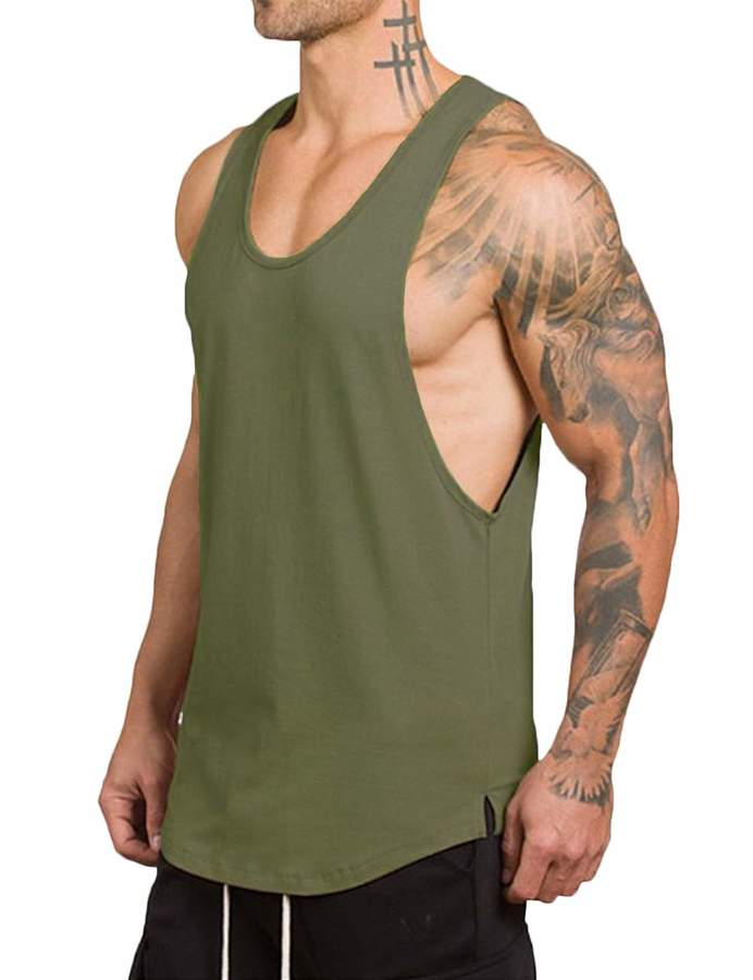95795fbfc Mens Cut Tops - ShopStyle Canada