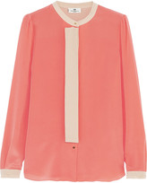 DAY Birger et Mikkelsen Silk crepe de chine blouse