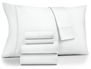 Fairfield Square Collection Brookline 1400-Thread Count 6-Pc. Queen Extra Deep Pocket Sheet Set Bedding