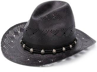 Saint Laurent Cut-Out Detail Hat
