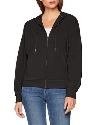 Benetton Women's Jacket W/Hood L/s Black 100 X-Small