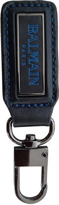 Balmain Black Leather Jewellery